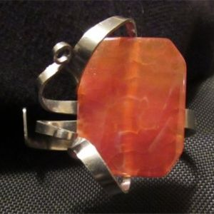Jewelry - STAINLESS SILVER FORK Artisan Bracelet